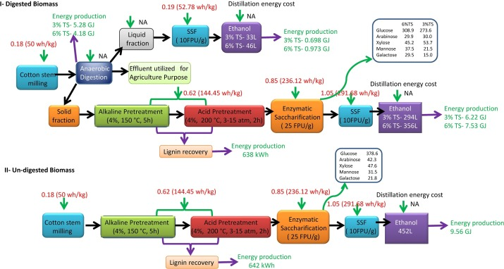 enzyme furnace cost effective sequential biogas and bioethanol production from